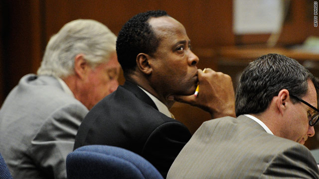 Murray says he won't testify in Jackson death trial