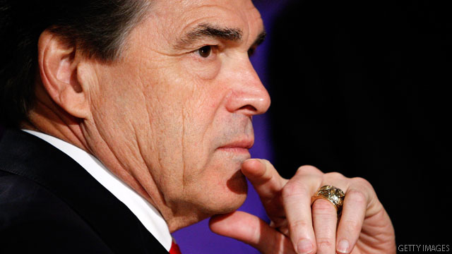 Perry changes stance to oppose all abortions
