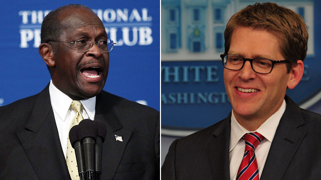 White House staying mum on Cain