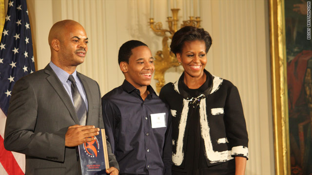 Michelle Obama honors the arts