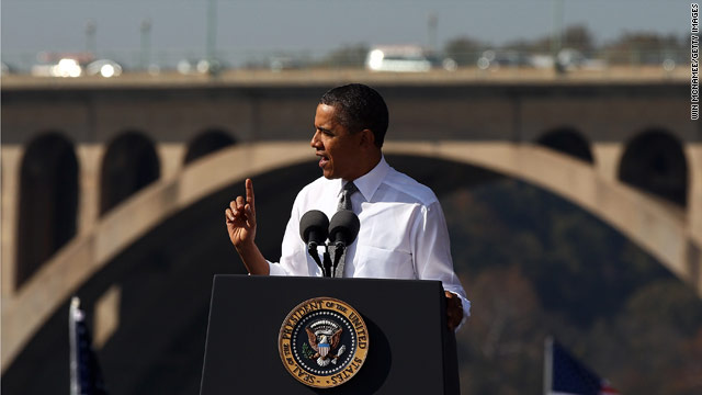 "President Obama: Aging infrastructre is ""drag on our...economy"""