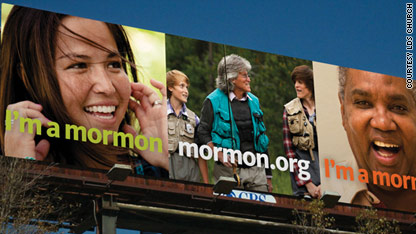 Mormon church counters its lily-white image