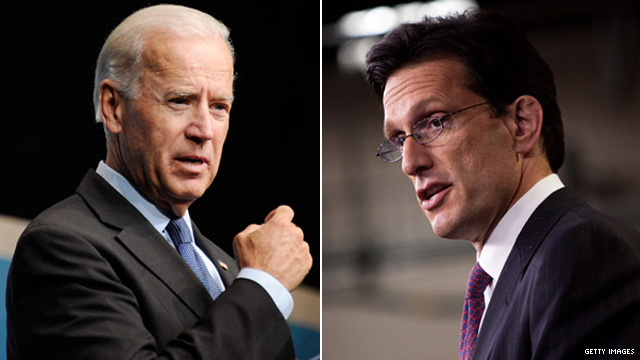 Biden and Cantor to break bread