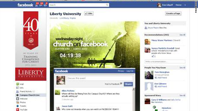 My Faith: Why were doing church on Facebook tonight