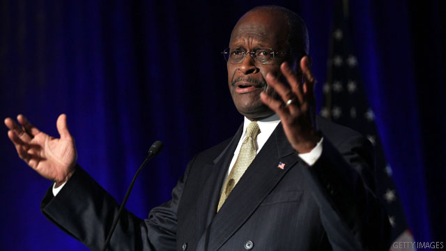 Cain: Sexual harassment claims &#039;will not deter me&#039;