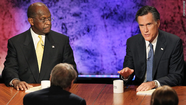 Poll: Cain pulls ahead of Romney