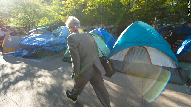 More Americans supporting Occupy Wall Street