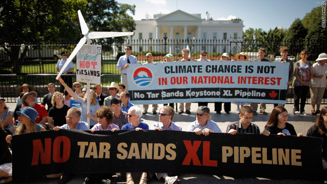 Obama indicates decision on oil pipeline will be his