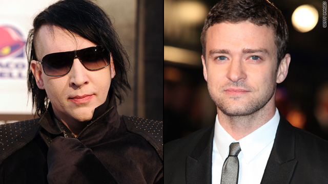 Marilyn Manson's karaoke fave is Justin Timberlake?
