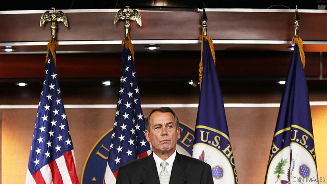 Boehner's offer heats up fiscal cliff talks