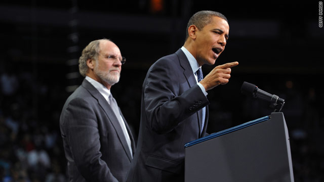 Obama campaign returns Corzine donations
