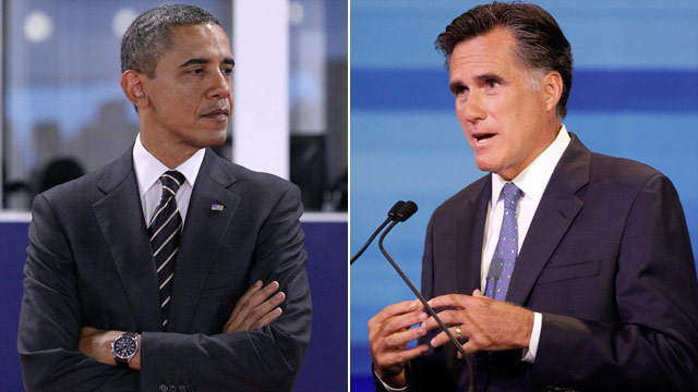 Poll: Obama and Romney all tied up in influential states