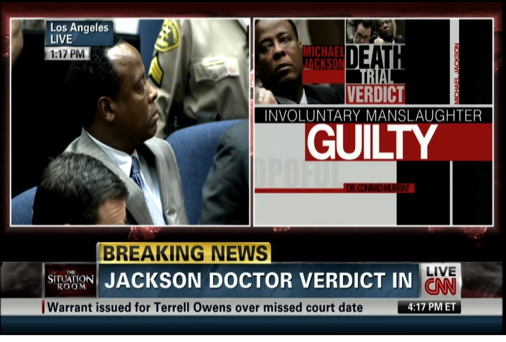 Dr. Conrad Murray Found Guilty of Involuntary Manslaughter
