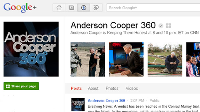Want to hangout with AC360? Join us on G+!