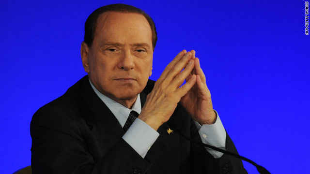 Italian PM Berlusconi says he won't resign