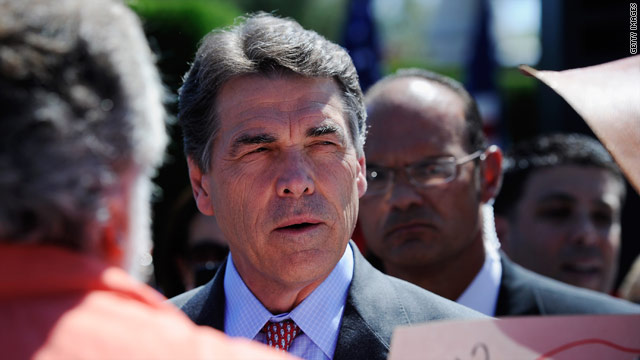 Perry to outline plan to 'dismantle' Washington