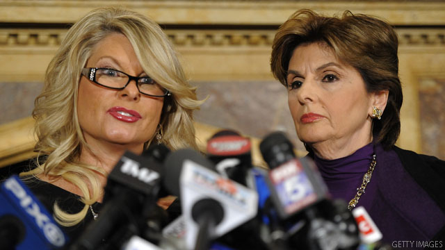 Cain accuser says her son encouraged her 'to tell on him'