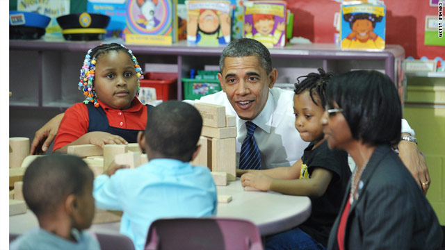 Obama gives kids a head start