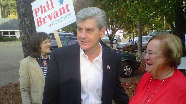 Republicans keep Mississippi governor's seat