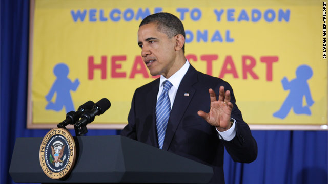 Obama to unveil homework for Head Start schools