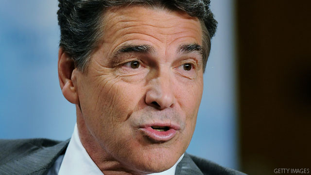 Perry is comfortable with 'don't ask, don't tell'