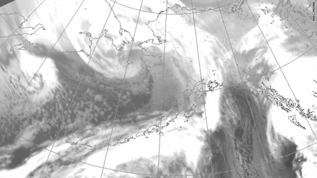 Arctic 'hurricane' slams Alaska