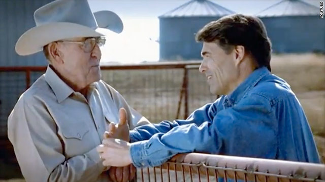 Perry addresses values in new ad