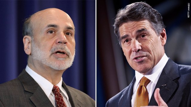 Bernanke doesn't get treated 'ugly' in Texas