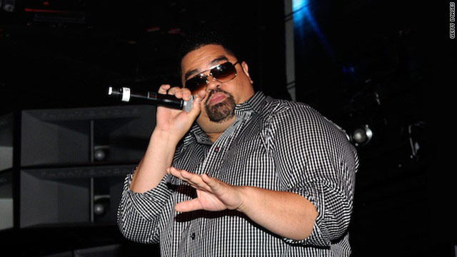 Heavy D, larger than life