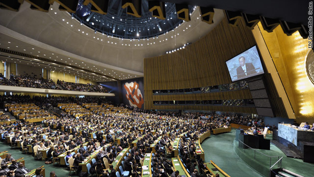 DEBATE PREP:  Money talks at the United Nations