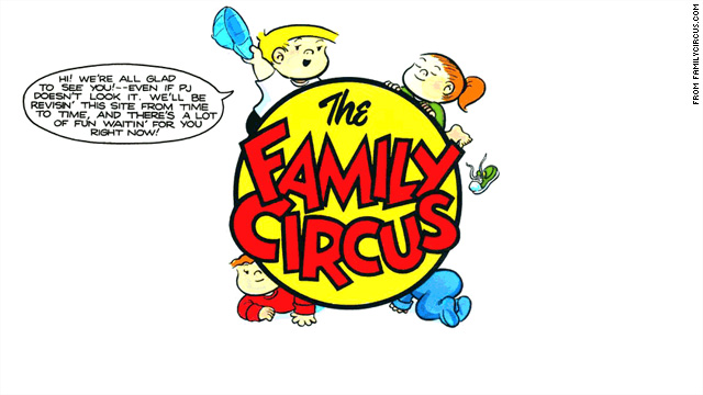 &#039;Family Circus&#039; creator Bil Keane dies