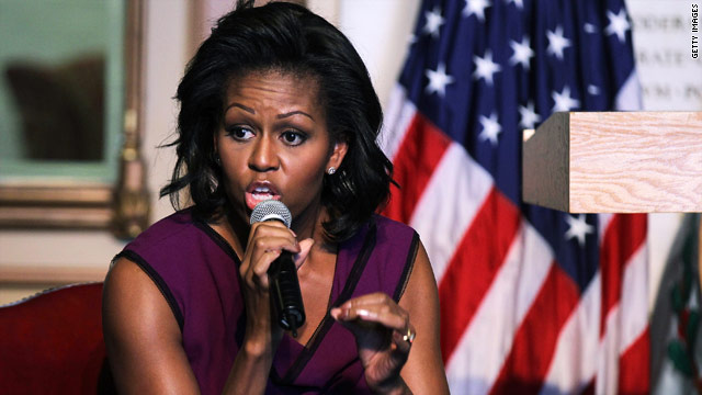 Michelle Obama announces new pledges for military hiring