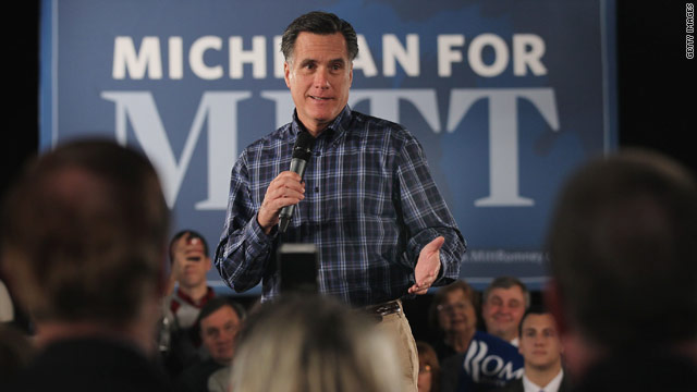 After debate, Romney dodges Perry questions and focuses on Michigan roots