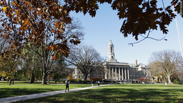 How can Penn State University restore its reputation?