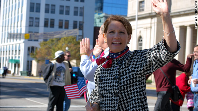Bachmann: Protesters were 'ignorant' and 'disrespectful'