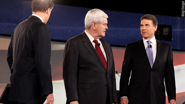 GOP candidates tackle foreign policy in debate