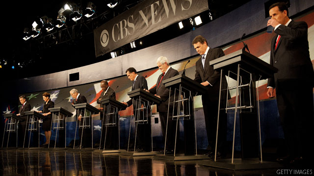 GOP debate meets its match against sports events