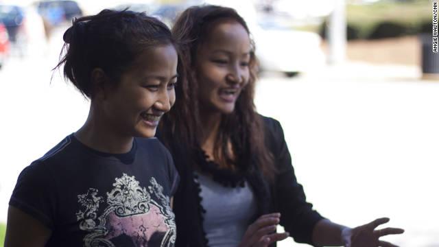 School targets teen girls from war torn nations