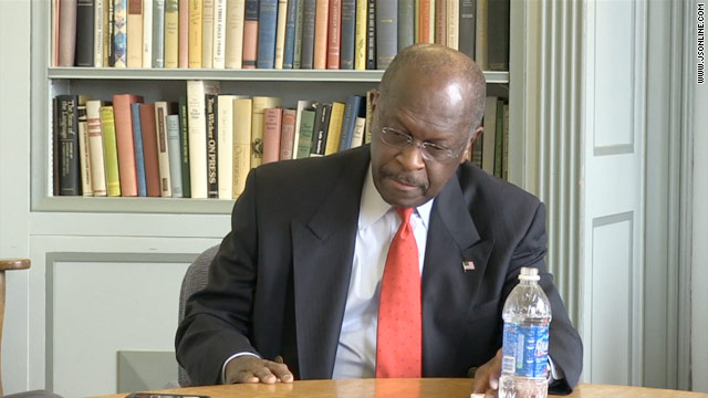 Cain stumbles over Libya