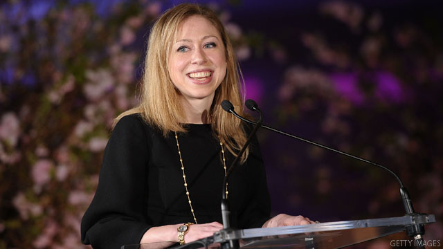 Chelsea Clinton to hit the tube