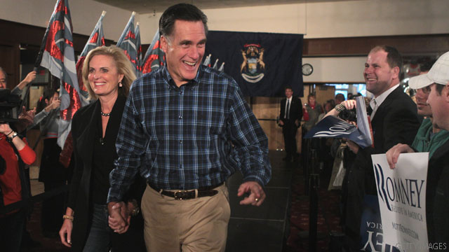 Mitt Romney: The most fortunate candidate in the race?