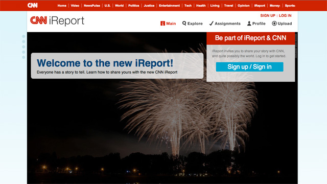 CNN Debuts an All-New CNN iReport