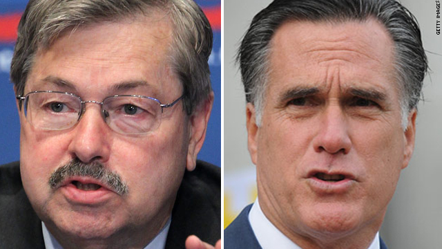 Iowa governor says Romney making 'big mistake'