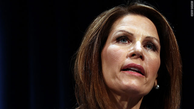 Bachmann restates: &#039;I&#039;m your man&#039; as she amps up political rhetoric