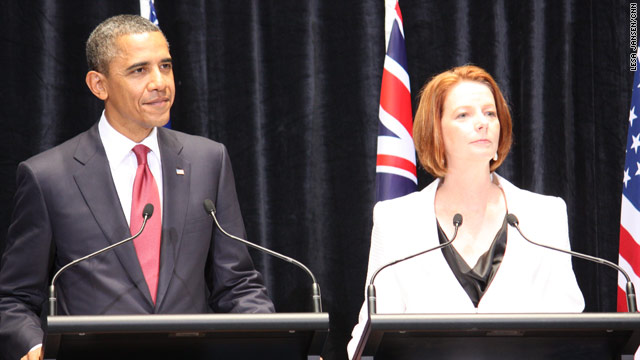 Obama in Australia: What day is it?