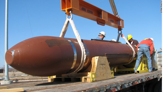 Pentagon: Bunker buster not intended for Iran