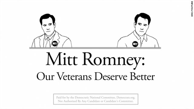 Dems say Romney wrong on vets' health care