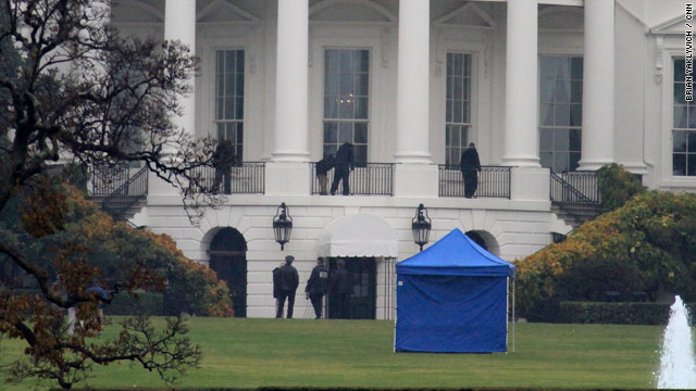 Shooting at the White House