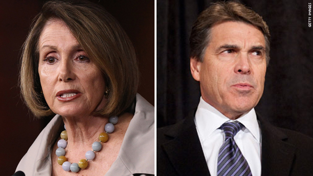 Third reason Pelosi can't debate Perry slips her mind