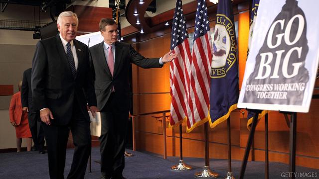 Deficit talks shift toward blame game
